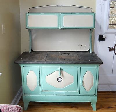 wood cook antique 1930 39 s kalamazoo president stove wood cook green