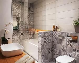 Carreaux Adhesif Salle De Bain : l 39 am nagement petite salle de bains n 39 est plus un probl me inspirez vous avec nos id es en ~ Melissatoandfro.com Idées de Décoration