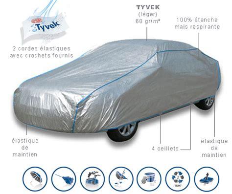 bache voiture housse protection auto semi sur mesure interieure exterieure tyvek pour cabriolet