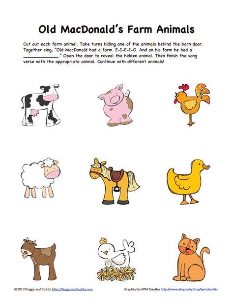 farm animals color pdf drive books with