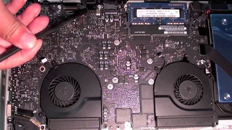 macbook pro fan not working macbook pro 2011 15 quot i7 thermal paste application tutorial