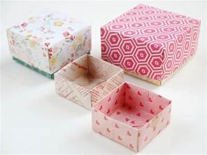 Comment Faire Une Boite En Origami : 1001 id es comment faire une bo te en papier ~ Dallasstarsshop.com Idées de Décoration
