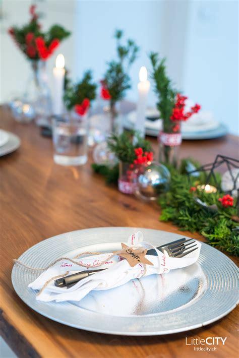 Weihnachts Tisch Deko unsere tischdeko f 252 r weihnachten mit blicktv in unserem