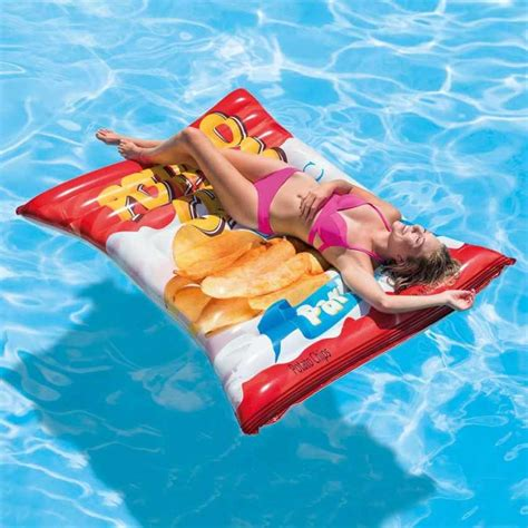 Intex Matelas Piscine by Intex 58776 Matelas Gonflable Chips Frites