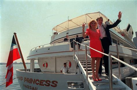trump yacht donald princess mega boat postandcourier file charleston marty reporters waves 1998 july