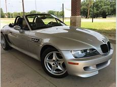 Sell used 2000 bmw z3 m roadster conv silver with black