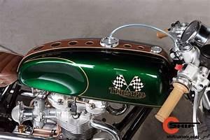 Racing Caf U00e8  Triumph By Shif Custom