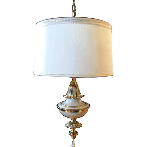 vintage stiffel ceiling l light fixture