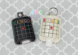 Sublimation Designs Free Hand Sanitizer Holder Machine Embroidery Designs