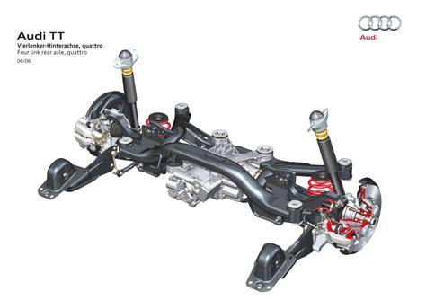 car rear suspension rear suspension audi technology portal
