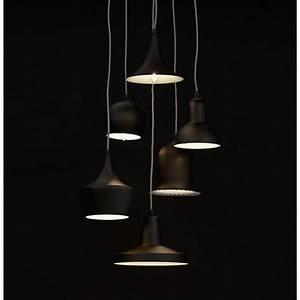 Suspension Multiple Luminaire : suspension multiple lake noir ~ Melissatoandfro.com Idées de Décoration