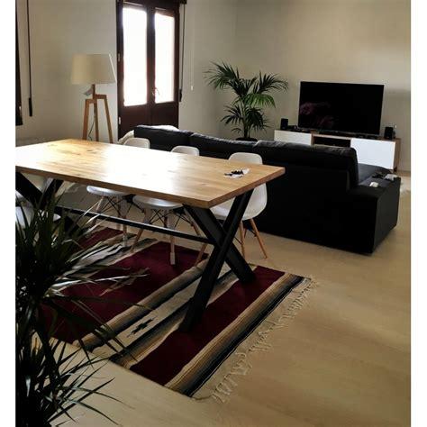mesa comedor loft estilo industrial viga madera misuri