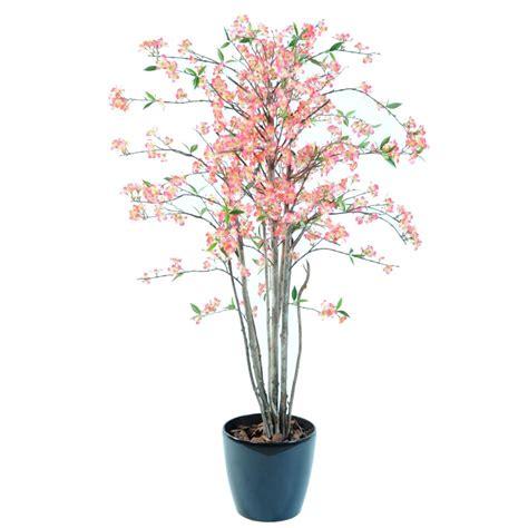 cerisier artificiel en fleurs vente de faux arbustes