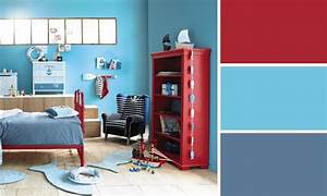 quelles couleurs se marient avec le rouge With chambre garcon bleu et rouge