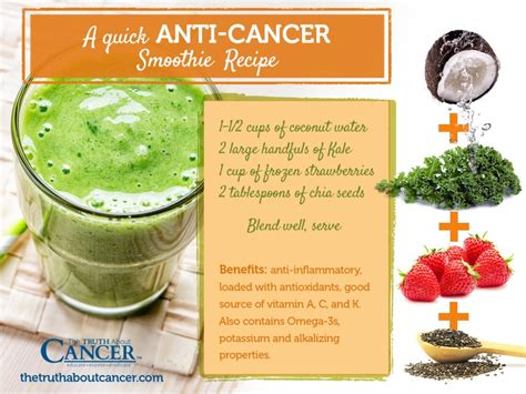 cancer juice juicing blending smoothie recipes vs kale recipe drink food fighting greens way