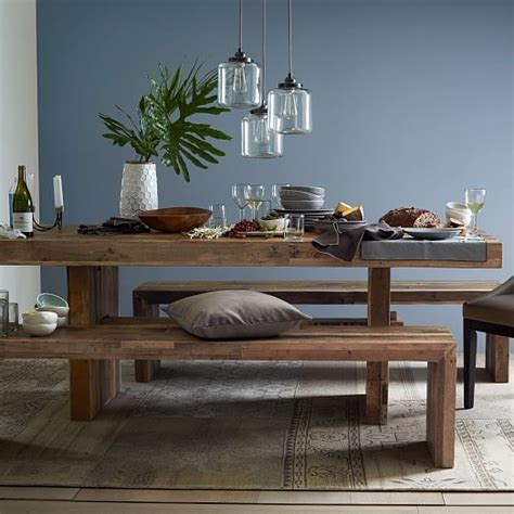 west elm bench table emmerson reclaimed wood dining bench west elm