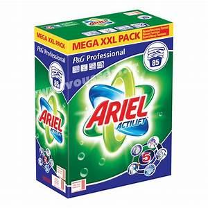 Lessive Pas Cher : lessive linge ariel poudre professionnel 5 en 1 baril 85 doses ~ Premium-room.com Idées de Décoration