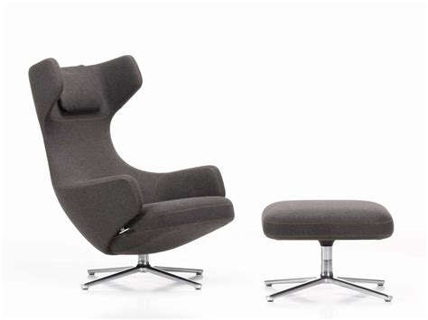 buy the vitra grand repos lounge chair at nest co uk