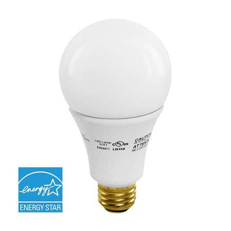 euri lighting 40w 60w 100w equivalent warm white a21 3 way