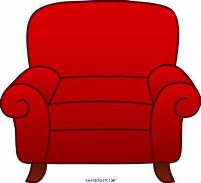 Cartoon Clipart Chair Armchair Couch Sofa Clip