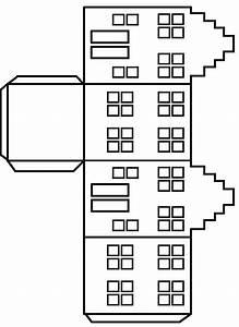 Haus Basteln Pappe Vorlage : die besten 25 papierh user ideen auf pinterest ~ Eleganceandgraceweddings.com Haus und Dekorationen