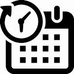 Icon Overtime Period Calendar Business Schedule Icons