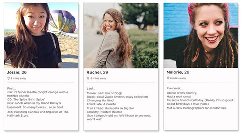 Tinder Profile Examples For Women Tips And Templates