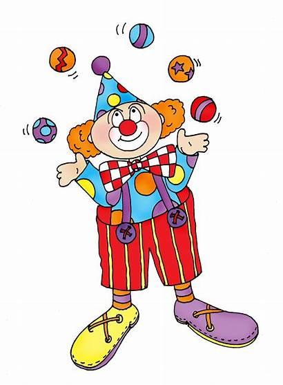 Clown Circus Juggler Clipart Clip Dolls Digi
