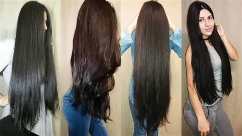 minutes  jane silva perdomo amazing long hair collection   youtube