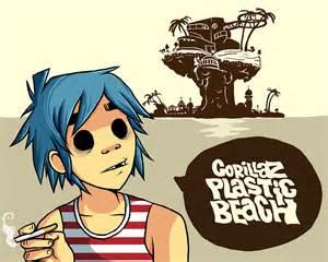 Gorillaz Plastic Beach 2D