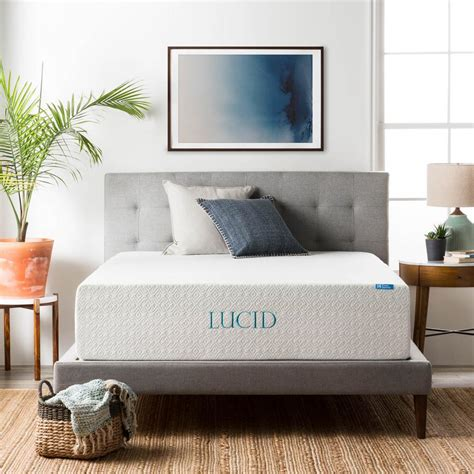 lucid 14 memory foam mattress lucid 14 in layer memory foam mattress