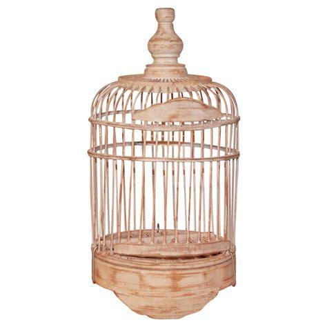 shabby chic birdcages 25cm wooden decorative bird cage white wash shabby chic handmade ebay