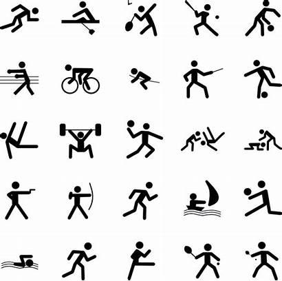 Symbols Sports Clip Clipart Sport Vector Play