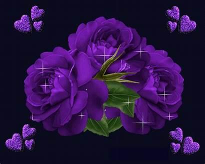 Glitter Graphics Flowers Sparkles Trees Animated Purple