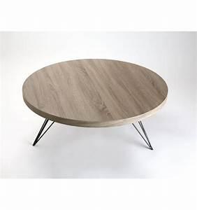 Table Ronde Pas Cher : table basse ronde bois ikea ~ Melissatoandfro.com Idées de Décoration