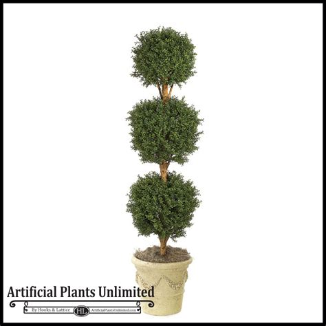 Artificial Ball Topiary For Indoor Use  Artificial Plants