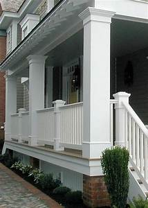 25 best ideas about porch columns on pinterest front for Exterior columns wraps