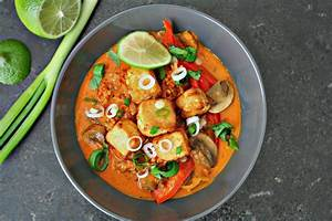 Easy Thai Red Curry With Tofu Killing Thyme