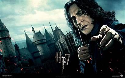 Potter Harry Snape Deathly Hallows Severus Desktop