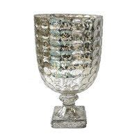 mercury glass hurricane vase 1000 images about centerpiece container choices on