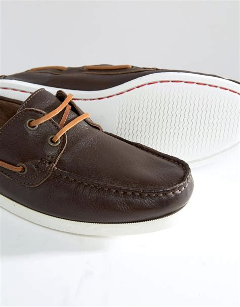 Boat Shoes Aldo by Aldo Damasus Boat Shoes In Brown For Lyst
