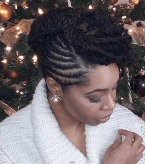 5 Fun Natural Hair Styles To Bring In The New Year Black