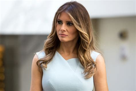 Melania Trump in hospital