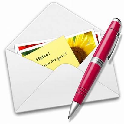 Letter Icon Pen Surat Icons Letters Mail