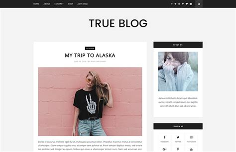 best free bloggong templates free templates themexpose