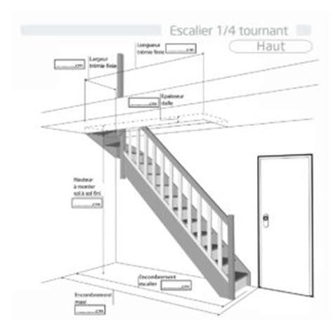 calcul escalier quart tournant haut escalier quart tournant haut