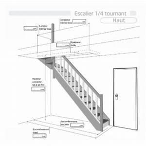 Escalier Quart Tournant Haut Droit : sch mas escaliers flin ~ Dailycaller-alerts.com Idées de Décoration