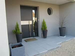 Entrée Maison Exterieur : photo perron ext rieur pinterest entr e ~ Farleysfitness.com Idées de Décoration