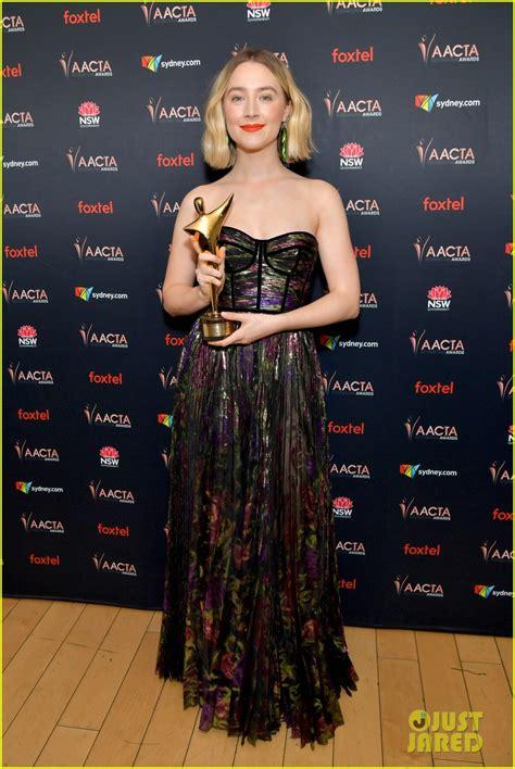 saoirse ronan wins  lead actress  australian academy
