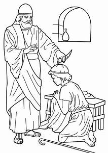 King Saul Coloring Page Coloring Home